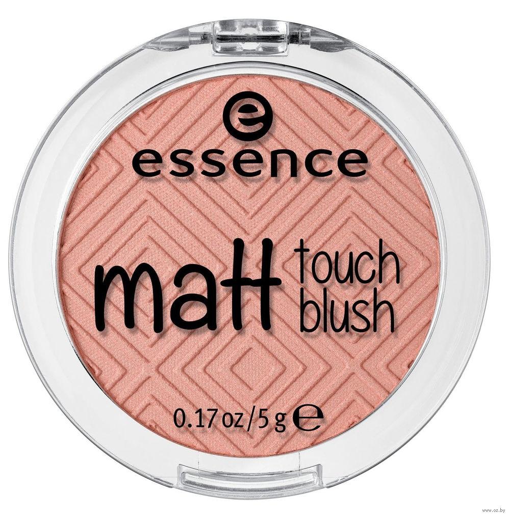 Картинки по запросу essence румяна matt touch blush 30