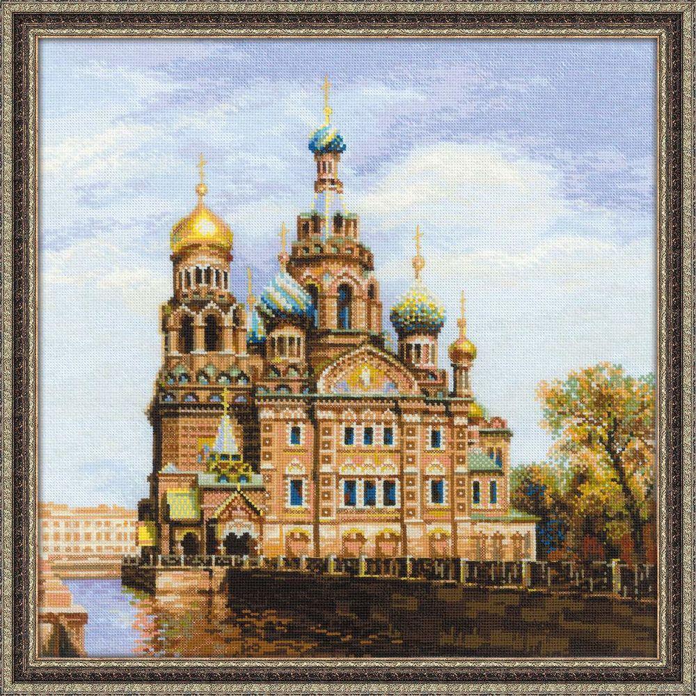 Набережная санкт петербурга вышивка