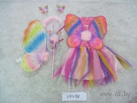"""Набор карнавальный """"Бабочка"""" (юбка, крылья со стразами, палочка, обруч)"""