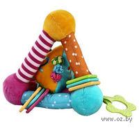 """Мягкая игрушка """"Треугольник с игрушкой внутри"""""""