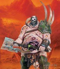 """Миниатюра """"Warhammer FB. Nurgle Chaos Lord"""" (83-32)"""