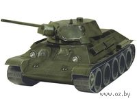 """Сборная модель из бумаги """"Танк Т-34 обр.1941г. (зеленый)"""""""