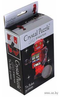 """Пазл-головоломка """"Crystal Puzzle. Робот красный"""" (39 элементов)"""