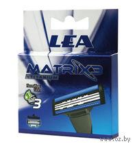 Кассета для станков для бритья LEA Matrix3 Titanium (4 шт)