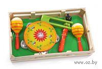 """Развивающая деревянная игрушка """"Музыкальный набор 2"""""""