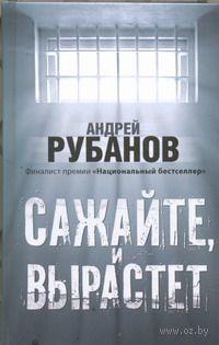 Сажайте, и вырастет. Андрей Рубанов