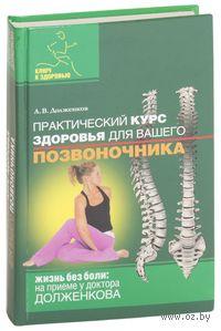 Практический курс здоровья для вашего позвоночника. Андрей Долженков