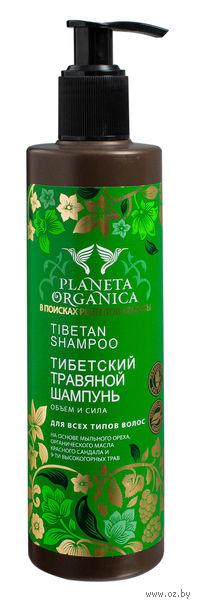 """Травяной шампунь для волос """"Тибетский"""" (280 мл)"""