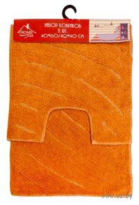 Набор ковриков текстильных (2 шт.; 40х60/40х40 см; арт. S-0046)