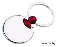 Брелок (круглый, красный)