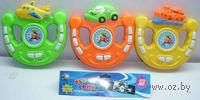 """Музыкальная игрушка """"Руль. Веселые гонки"""" (со световыми эффектами; арт. 946159R-69)"""