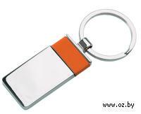Брелок (прямоугольный, оранжевый)