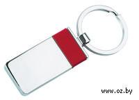 Брелок (прямоугольный, красный)