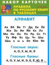 Правила по русскому языку в таблицах. 1-4 класс