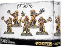 """Набор миниатюр """"Warhammer AoS. Stormcast Eternals Paladins"""" (96-12)"""
