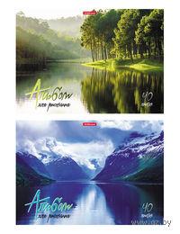 """Альбом для рисования """"На природе"""" (А4; 40 листов)"""