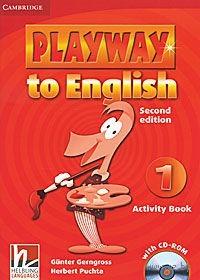 Playway to English 1: Activity Book (+ CD). Гюнтер Гернгросс, Херберт Пучта