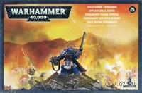 "Миниатюра ""Warhammer 40.000. Space Marine Commander"" (48-05)"