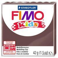 """Глина полимерная """"FIMO Kids"""" (коричневый; 42 г)"""