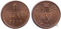 1 пенни 1916