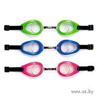 Очки для плавания пластмассовые детские (16 см)