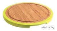 Доска разделочная бамбуковая (25х25х1,5 см)
