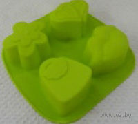 Форма для выпекания силиконовая (20*19 см)