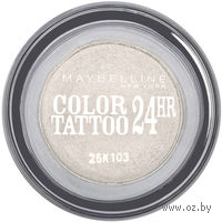 "Тени для век ""Color Tattoo 24 часа"" (тон 45, белый; 4 мл)"