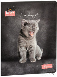 "Тетрадь в клетку ""Angry kitten"" 48 листов"