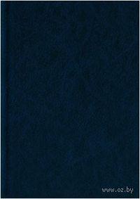 """Ежедневник полудатированный """"Синий (фактура)"""" (А5, 192 листа)"""