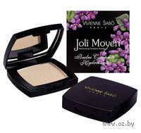 "Компактная пудра для лица ""Hydratante Joli Moyen"" (тон: 02, светло-розовый)"