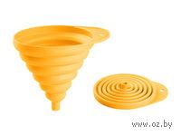 Воронка пластмассовая складная (130 мм; солнечный)