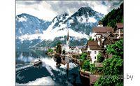 "Картина по номерам ""Туманное утро в горах"""