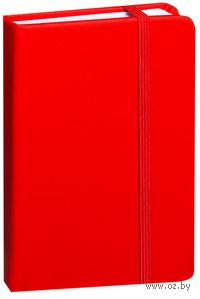 """Блокнот """"Lubeck"""" A6 (красный)"""