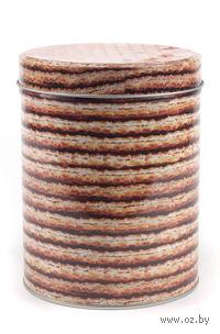 Банка для сыпучих продуктов металлическая (11*14 см, арт. Y108015L)