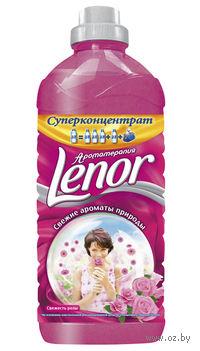 """Концентрат-ополаскиватель Lenor """"Свежесть Розы"""" (930 мл)"""
