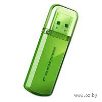 USB Flash Drive 8Gb Silicon Power Helios 101 (Green)