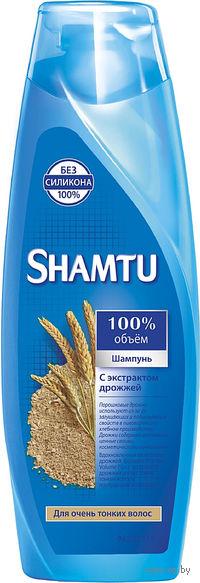 Шампунь SHAMTU с экстрактом дрожжей для очень тонких волос (380 мл)