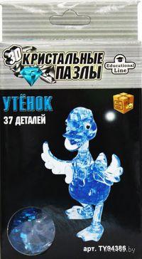 "Пазл ""3D Crystal Puzzle. Утенок"" (37 элементов)"