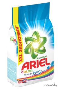 """Стиральный порошок Ariel Pro-ZIM 7 """"Color Lenor Effect"""" для автоматической стирки (6 кг)"""