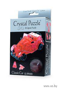 """Пазл-головоломка """"Crystal Puzzle. Автомобиль красный"""" (53 элемента)"""