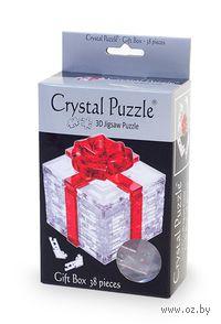 """Пазл-головоломка """"Crystal Puzzle. Подарок"""" (38 элементов)"""