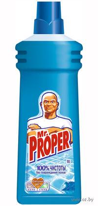 """Жидкость для уборки Mr.Proper """"Океанская свежесть"""" (750 мл)"""