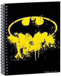 """Блокнот в клетку """"Бетмен"""" A5 (067)"""