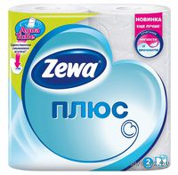 Туалетная бумага Zewa Плюс (цвет: белый; 4 рулона)