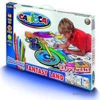 """Набор для рисования """"Carioca Kid""""s World` (поезд; 72 предмета)"""