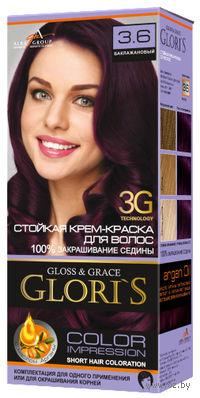 Крем-краска для волос (тон: 3.6, баклажановый)