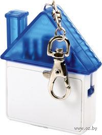 Набор отверток в виде домика-брелока (синий)
