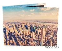 """Обложка на зачетную книжку """"Нью-Йорк"""""""
