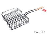 Решетка-гриль металлическая с антипригарным покрытием (35*27,5*67 см)